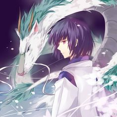 Spirited Away. Haku.