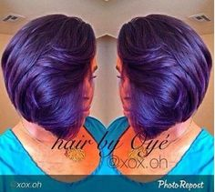 That Purple Slay - With @xox.oh - http://community.blackhairinformation.com/hairstyle-gallery/short-haircuts/purple-slay-xox-oh/