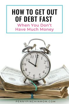 It is possible to get out of debt with no money; you just need to learn how. I am here to tell you that you CAN (and should) get out of debt – no matter how little money you may make!!