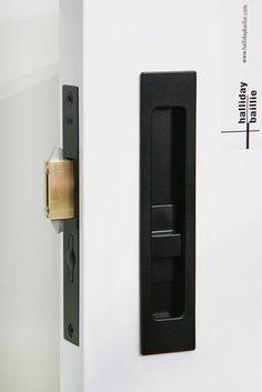 Sliding Door Hardware HB 690 Privacy Lock - Halliday Baillie - HandB2012