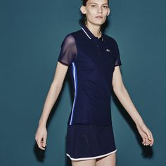 Lacoste SPORT Tennis polo in ultra-dry technical fine piqué