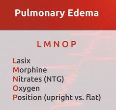 Pulmonary edema or these drugs must use for decreasing the preload of Heart;Pulmonary edema is the most common cause of left ventricular failure for treatment  1-Options diuretics   2-Options Pulmonary Edema Drugs