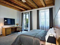 architektúra, Boutique hotel Albrecht, hotelová izba