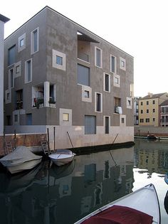 cino zucchi, social housing, venice, 1997-2002 (like the one in my dream )
