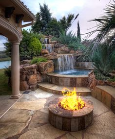 Want a vacation destination in your own backyard? The beauty of nature's creations is captured in the custom natural rock pools, spas, and waterfalls of Stone Mason of Spring. pool backyard 8 Best Modern Ideas-Day Moats That Float Our Boats Hot Tub Backyard, Small Backyard Pools, Backyard Pool Designs, Swimming Pools Backyard, Backyard Patio, Backyard Landscaping, Small Pools, Hot Tub Pergola, Backyard Waterfalls