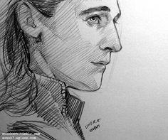 Thor, Loki Marvel, Avengers, Drawing Cartoon Characters, Character Drawing, Cartoon Drawings, Pencil Art Drawings, Drawing Sketches, Loki Drawing
