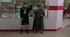 Jay and Silent Bob -  pick a movie, any movie that they're in.  Enjoy them all!