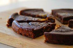 Receta de Brownie Cheesecake de Calabaza Light
