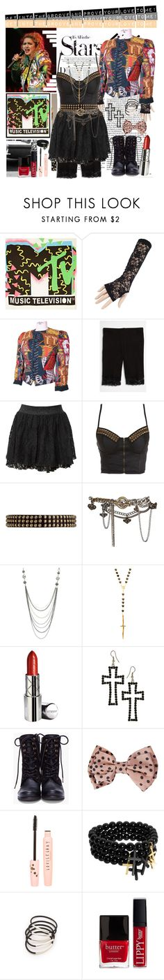 """Legendary '80s Fashion"" by sweet-jolly-looks ❤ liked on Polyvore featuring River Island, Karl Lagerfeld, Hermès, TA-EAM, Miso, Tokyo Doll, Ronald Pineau, AllSaints, Wet Seal and Pamela Love"