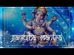 NEW! GANESH POWERFUL MANTRA For Success & to Remove Obstacles! ॐ Powerful Mantras & Meditation Music - YouTube