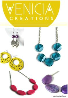 Jessica Who?: giveaway-a-day: venicia creations