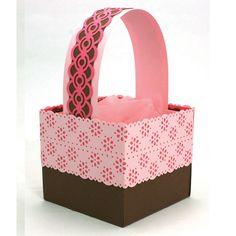 Blossom Eyelet Trim Basket using MSC products