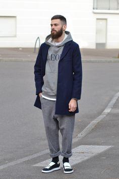 """Aimé Leon dore jacket/hoodie Ami Paris baggy Bernhard willhelm x camper Sandals "" Stylish Men, Men Casual, Fitz Huxley, Casual Outfits, Fashion Outfits, Fashion Ideas, Men's Outfits, Sport Outfits, Fashion Fashion"