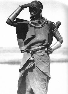 maasai woman by casimir zagourski, 1929-37
