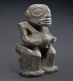 Marquesas Islands, French Polynesia Stone figure 19th century, Musée du quai Branly, Paris #marquesantattoos