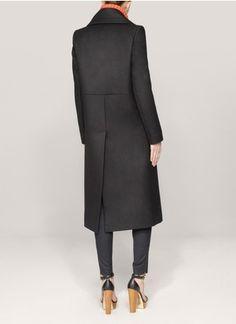 Stella McCartneyOversized-collar wool coat