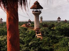 Explore Adventure Park in Playa del Carmen. fabulous! The longest zip lines in Latin america!