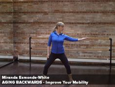 I first saw this on WPTO! And, then found out there are full length you tube videos. Improve your mobility video ~ essentrics.com