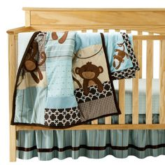 Lambs & Ivy Giggles 5 Piece Bedding Set.Opens in a new window