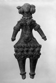 Mother Goddess Medium: Gray terracotta Dates: ca.320-200 B.C. Period: Maurya Period