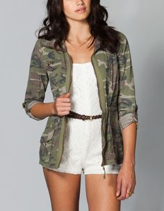 Camo Jacket love this outfit !(: