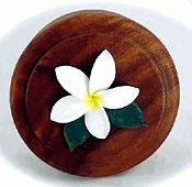 Jewelry Box - White Plumeria