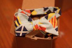 Nautical Flag Bow Tie