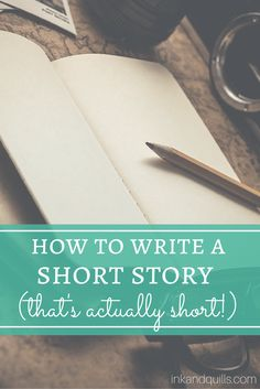 """Want to write a short story but struggling on the """"short"""" part? Learn my top…"""