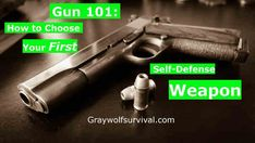 Gun 101 - How to Choose Your First Self-Defense Weapon. Most advice you hear about how to choose a weapon is unhelpful or even incorrect. The basics are all quickly broken down for you and then you're given you further resources to make the best choice. http://bit.ly/1t5oHvo
