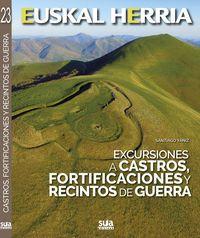Excursiones a castros, fortificaciones y recintos de guerra / Santiago Yániz. War, Santiago