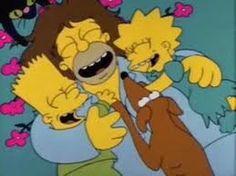 Homero con pelo!!!