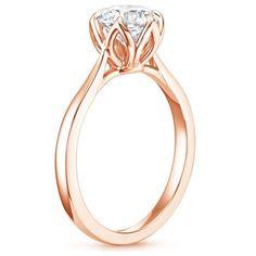 14K Rose Gold Caliana Ring, top view