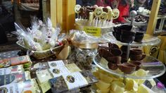 at the Chocolate Festival in Chocolate Festival, Southern Italy, Chocolate Fondue, Desserts, Food, Meal, Deserts, Essen, Hoods