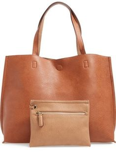 The perfect tote for a day of shopping or for the office! This color is amazing for fall!