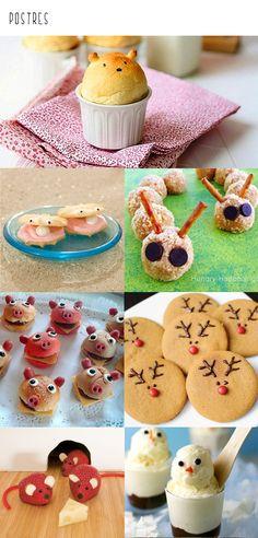 Love the lil reindeer cookies Yummy Treats, Sweet Treats, Yummy Food, Holiday Treats, Holiday Recipes, Christmas Deserts, Christmas Ideas, Xmas, Reindeer Cookies