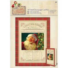 A5 decoupage card kit foiled letter to santa naughty nice a5 decoupage card kit foiled letter to santa naughty nice papermania letter to santa pinterest card kit a5 and santa spiritdancerdesigns Image collections