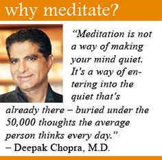 Chopra Instructor Central Ohio - Page 2 of 2 - Primordial Sound Meditation