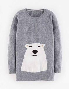 Animal Intarsia Sweater
