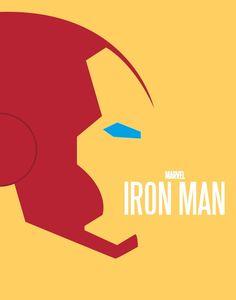 Minimalist Posters : Iron Man