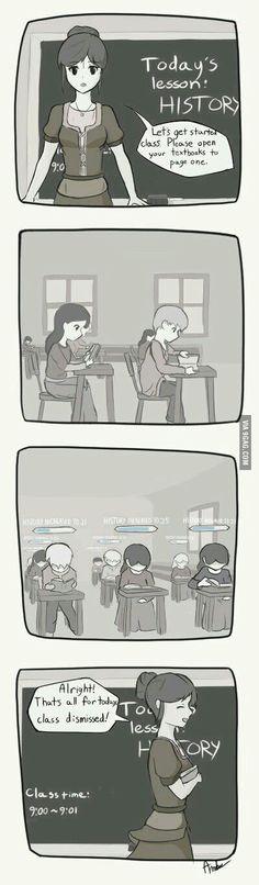 Schools in RPGs