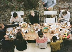 Recipes from The Kinfolk Table: Citrus Lentil Salad and Oatmeal Chocolate Chip Cookies Brunch Table, A Table, The Kinfolk Table, Kinfolk Style, Lentil Salad, Oatmeal Chocolate Chip Cookies, Party Planning, Party Time, Design Inspiration