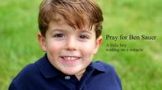 A blog that will renew your faith, make you laugh, make you cry but most of all you will fall in love with this little boy!