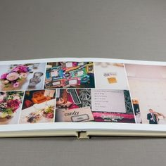 Album detail: Virtually seamless double page spread.