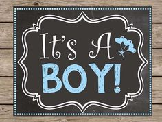 It'S a boy pregnancy announcement chalkboard sign - its a boy printable pregnancy reveal chalkboard gender reveal girl boy due date poster # quotes # Gender Reveal Chalkboard, Chalkboard Signs, Kids Chalkboard, Chalkboards, Pregnant With Boy, It's A Boy Announcement, Baby Announcements, Boy Printable, Printables