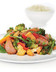 Pølsegryte Frisk, Potato Salad, Meal Planning, Potatoes, Chicken, Meat, Cooking, Ethnic Recipes, Food Plan