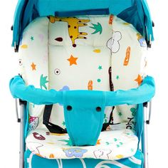 Comfortable Child Cart Seat Cushion Soft Pram Pad