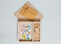 Fotobox für Fotos & USB Stick Woodenbox, Handmade