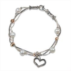 Shop Now! I found the Ribbons & Pearls Bracelet at http://www.arhausjewels.com/product/bc603/bracelets. $80.00 #arhausjewels #bracelets.