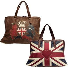 Jan Constantine Union Jack Weekend Bag