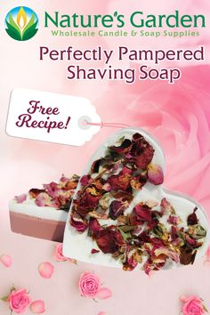 Free Handmade Shaving Soap Recipe by Natures Garden